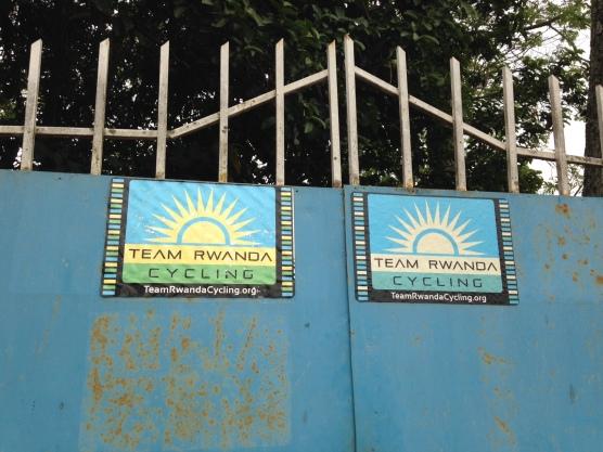 Cykellaget Team Rwandas lokaler i Musanze.